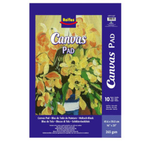 Canvas pad web