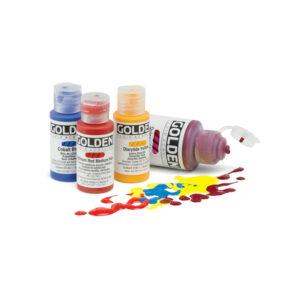 Fluid acrylics feature web