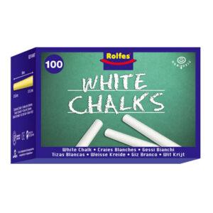 Chalk 100s white a