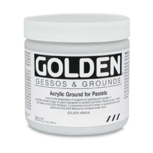 Acrylic Grounds for Pastels feature
