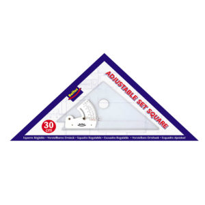Adjustable Set Square 30 cm