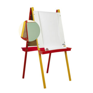 Childrens dual easel feature