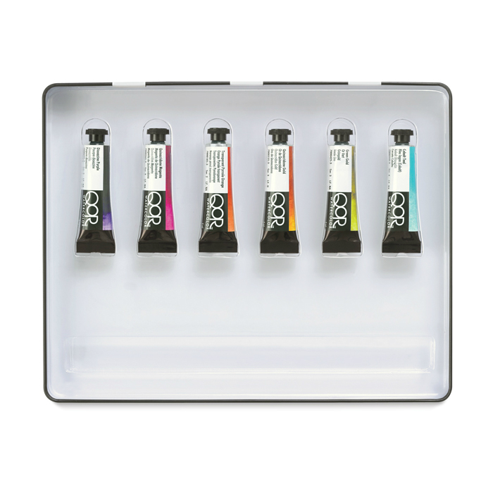 Qor modern watercolor sets for Chroma mural paint markers
