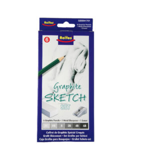 Sketch set of 6 feature