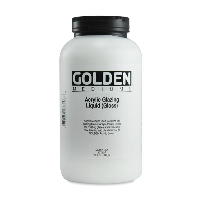 golden acrylic glazing liquid gloss