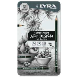 Lyra graded pencil tin